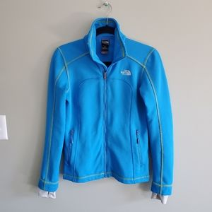 The North Face Blue Zippered Sweater M
